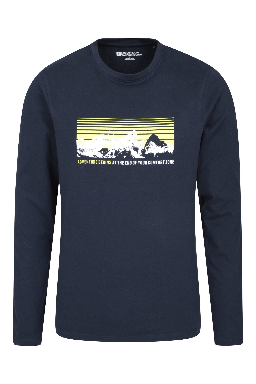 Lightweight /& Breathable Mountain Warehouse Adventure Ii Ls Shirt