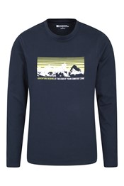 New Adventures Long Sleeved Mens Top