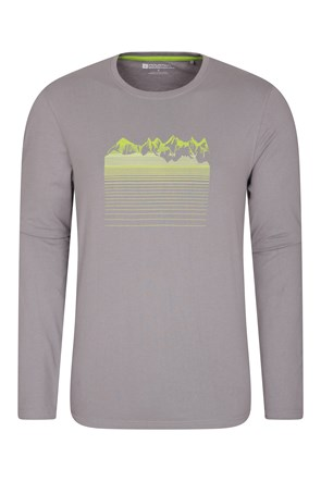 Mountain Gradient Mens Top