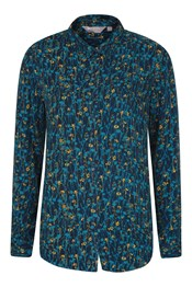 Daisy Womens Printed Long-Sleeve Shirt