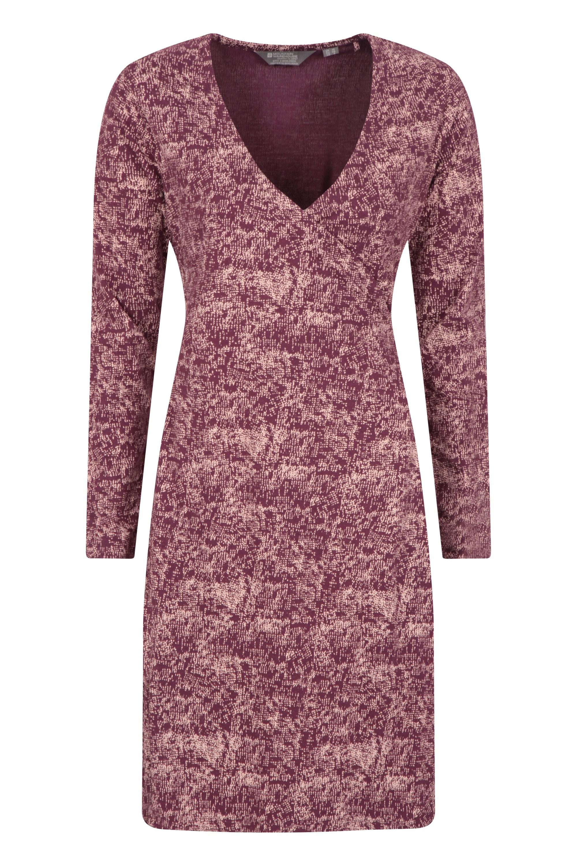 Juniper - sukienka damska - Burgundy