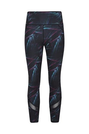 Energy Patterned Womens Leggings - Short Length
