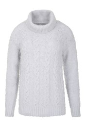 Glencoe Womens Cable Knit Top