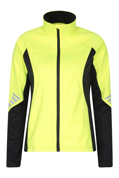 Speed Up High-Vis Womens Midlayer - Yellow
