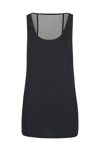 Movement Womens Mesh Vest - Black