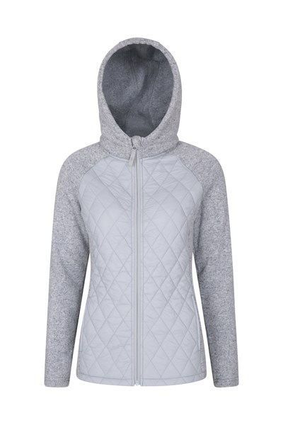 Ascent Womens Padded Jacket - Grey