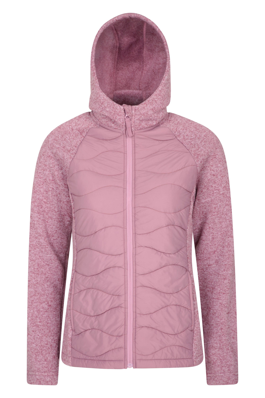 Ascent - damska kurtka pikowana - Pink