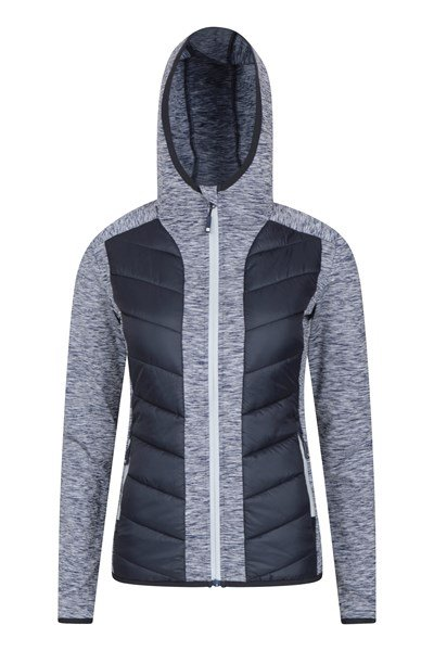 Get Going Womens Padded Jacket - Navy