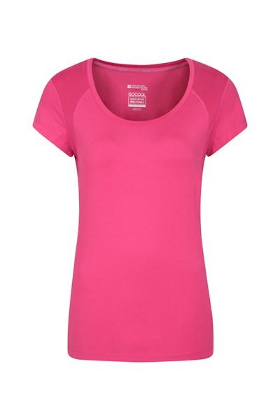 Enlighten Womens Active Tee - Pink