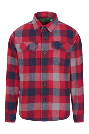 Flannel Kids Check Shirt