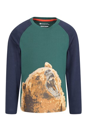 Grizzly Bear Kids Top