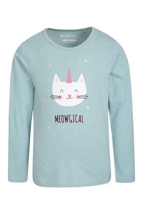 Caticorn Kids Top