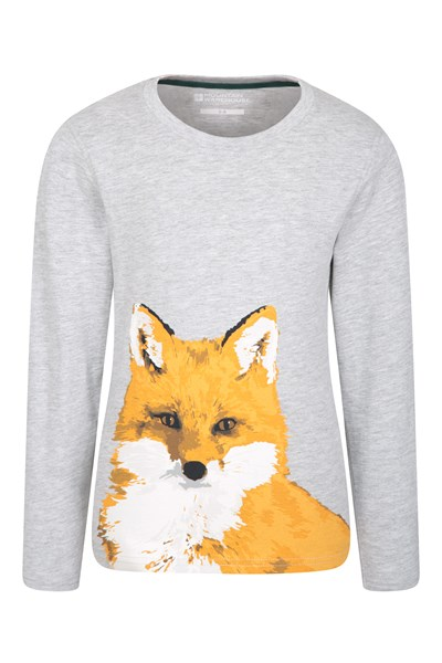 Fox Kids Top - Grey