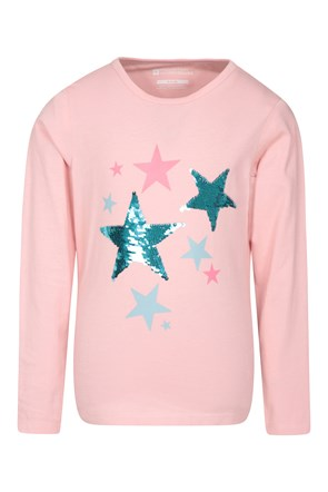 Sequin Star Kids Tee