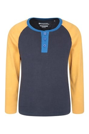 Henley Kids Top