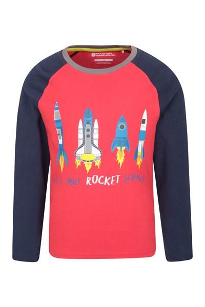 Rocket Science Kids Top - Red