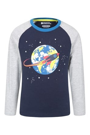 031256 ROCKET SHIP KIDS TEE