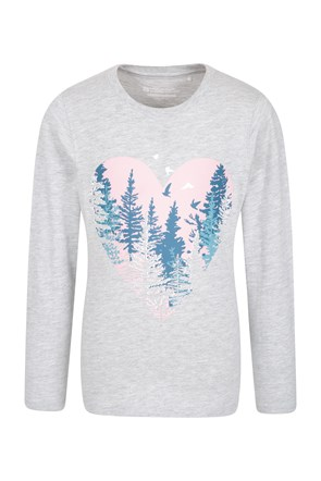 Winter Forest Kids Top