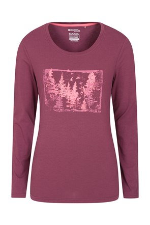 Forest Brights Printed Womens Tee