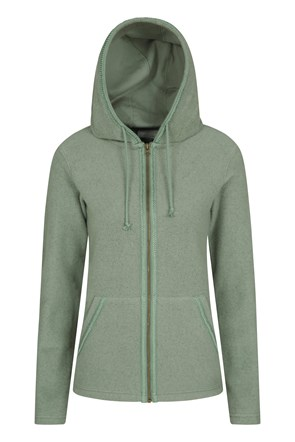 Elder Sherpa-Fleece Womens Full-Zip Hoody