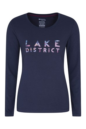 Camiseta Manga Larga Lake District Mujer