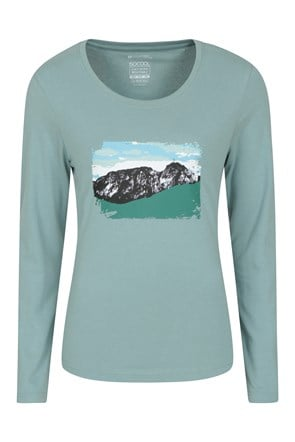 Zakopane Womens Printed Long Sleeve Top