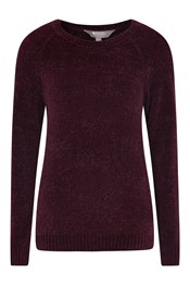 Oxford Womens Chenille Knitted Top