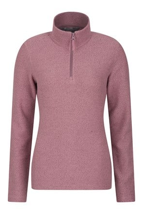 Cambridge Half Zip Womens Top