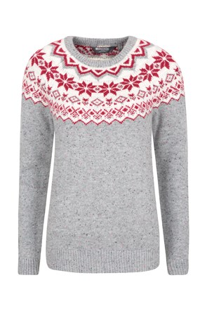 Novelty Womens Knit Jumper