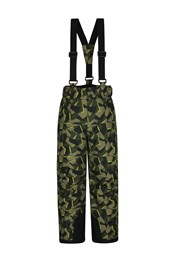 Printed Kids Ski Pants