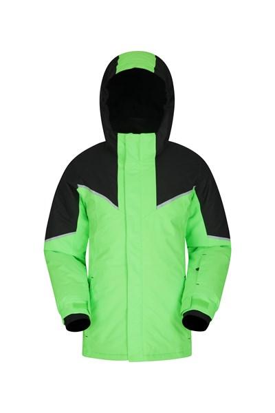 Colorado Kids Waterproof Ski Jacket - Green