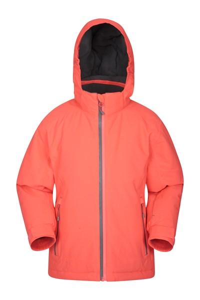 Slope Style Kids Waterproof Jacket - Pink