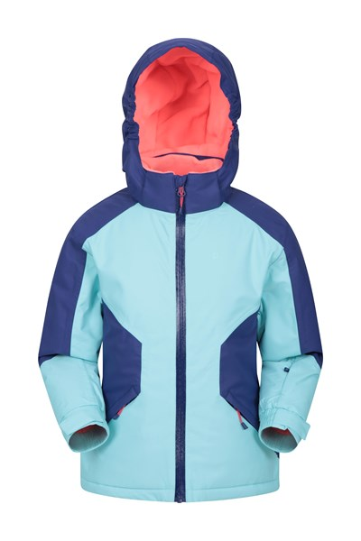Snowbird Kids Waterproof Jacket - Blue