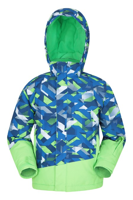 031319 BLADE PRINTED KIDS SKI JACKET