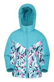 Snow Storm Kids Printed Ski Jacket