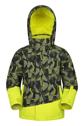 Whistler Printed Kids Ski Jacket