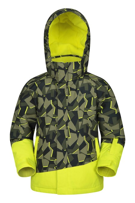 031322 WHISTLER PRINTED KIDS SKI JACKET