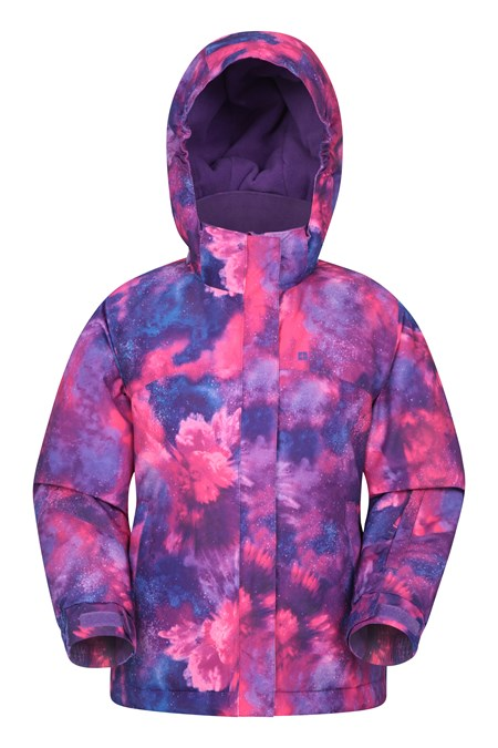 031323 SNOW DUST PRINTED KIDS SKI JACKET