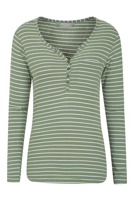 031343 ROWAN WOMENS STRIPE TOP