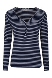 Rowan Striped Womens Top