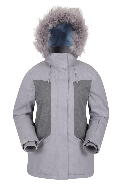 Blizzard Textured - damska kurtka narciarska - Grey