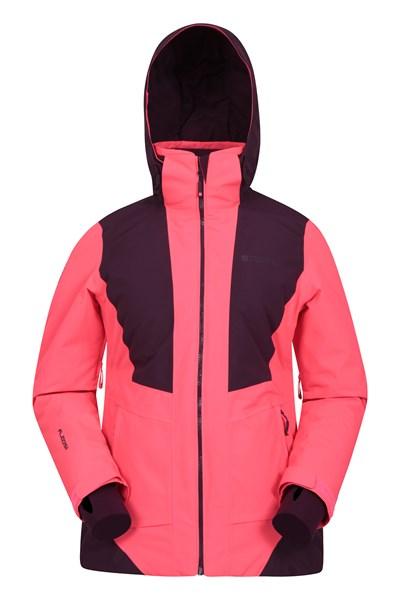 Slalom Extreme Womens Waterproof Ski Jacket - Pink