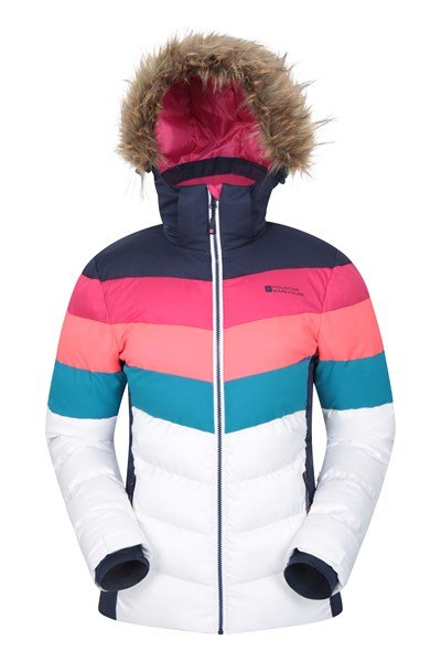 Avalanche Womens Padded Ski Jacket - Navy