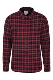 Lumberjack Flannel Long Sleeve Mens Shirt