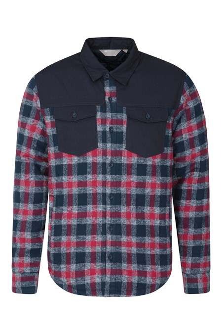 031406 FLANNEL PADDED SHACKET