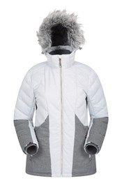 Snowflake Womens Padded Ski Jacket