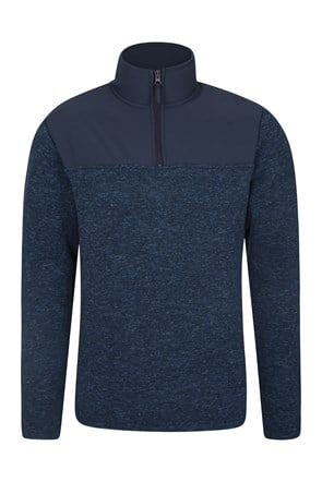 Idris Panel Mens Fleece