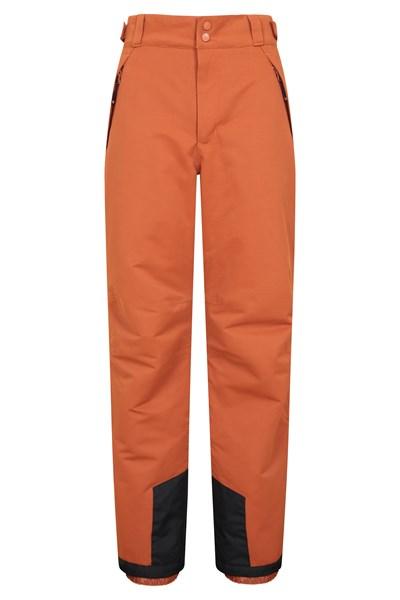 Luna Mens Ski Pants - Short Length - Orange