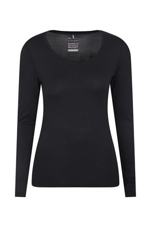 031456 KEEP THE HEAT ISOTHERM WOMENS ROUND NECK TOP