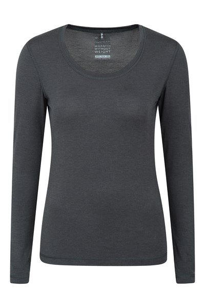 Keep The Heat Womens IsoTherm Thermal Top - Grey